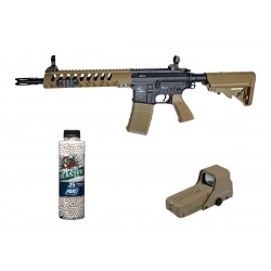 Softgun gevær ASG Armalite M15 Tactical SLV Tan