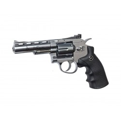 ASG Dan Wesson 4'' Chrome Co2 Airsoft revolver pakke
