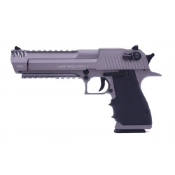 Softgun pistol Cybergun Desert Eagle L6 Stainless Blowback Co2