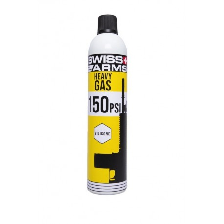 Swiss Arms Heavy Gas med silikone 150 PSI 600ml