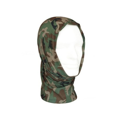 Multifunktionel Headgear Woodland