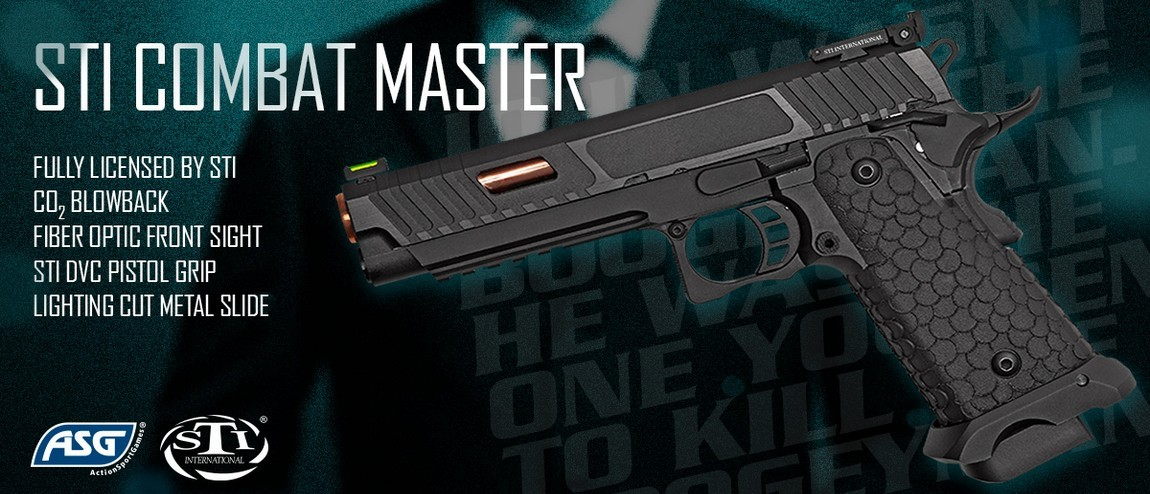 STI Combat Master 2011 John Wick 3 Co2 version