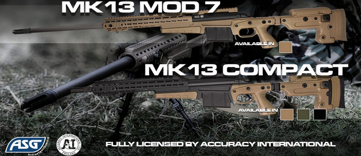Accuracy International MK13 Mod 7 sniper