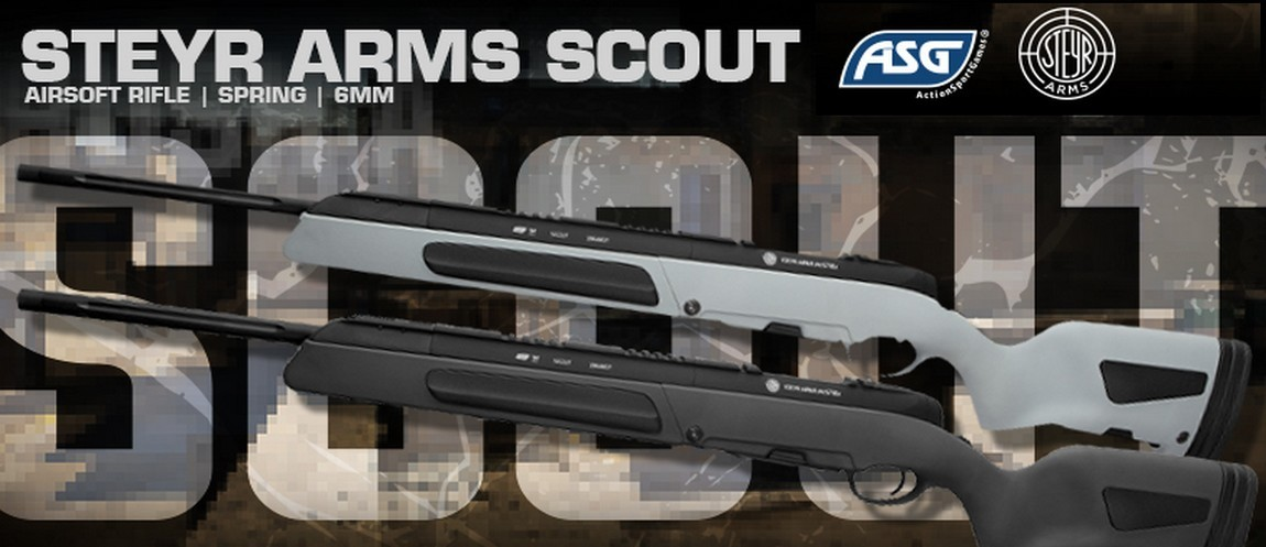 ActionSportGames Nyhed ! Steyr Arms Scout hardball sniper